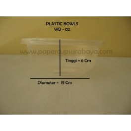 Plastic Bowl (Microwave Heating)