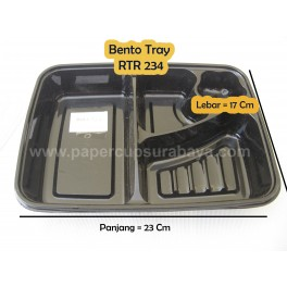 Bento Box - Bento Tray (lunch box) - Tempat makan plastik